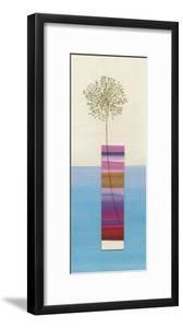 Stripy Vase and Dandelion by Nicola Gregory
