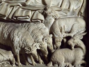 Flock of Rams by Nicola Pisano