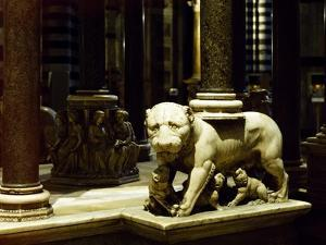 Lioness Pulpit, 1265-1268 by Nicola Pisano