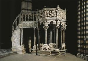 Pulpit, 1265-1268 by Nicola Pisano