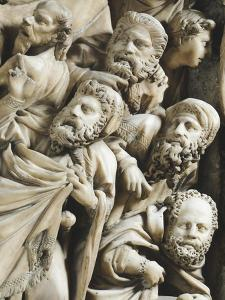 The Crucifixion, Detail from Pergamon or Pulpit by Nicola Pisano
