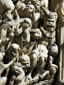 The Damned, Detail from Pulpit by Nicola Pisano