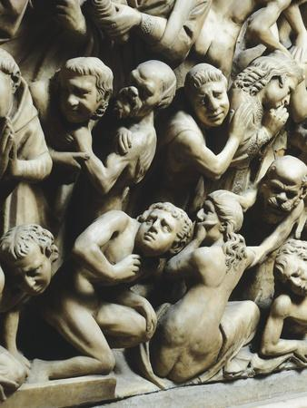 The Last Judgment and Damned, Detail from Pergamon or Pulpit