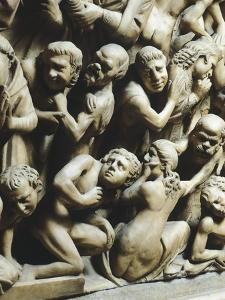 The Last Judgment and Damned, Detail from Pergamon or Pulpit by Nicola Pisano