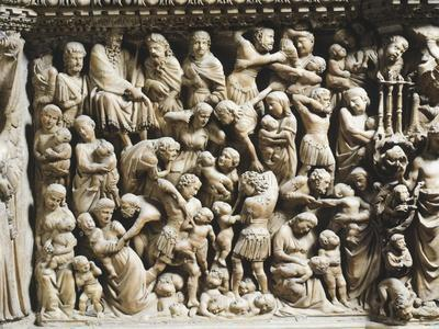 The Massacre of Innocents, Detail from Pergamon or Pulpit