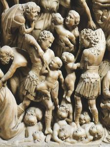 The Massacre of Innocents, Detail from Pergamon or Pulpit by Nicola Pisano