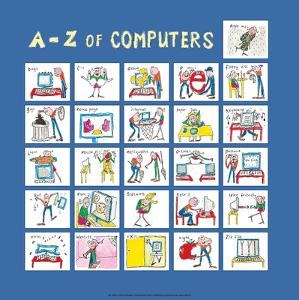 A - Z of Computers by Nicola Streeten