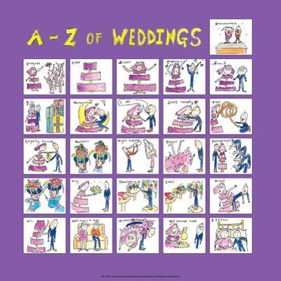 A - Z of Weddings