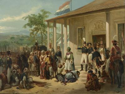 Arrest of Diepo Negoro by Lieutenant-General Baron De Kock