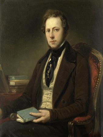 Portrait of a Man, Perhaps the Poet Petrus Augustus De Genestet