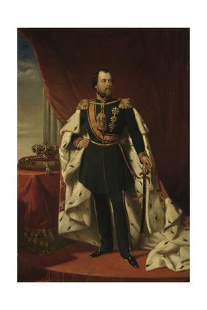 Portrait of William III, King of the Netherlands