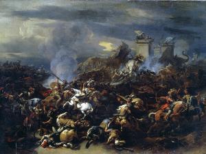Battle Between Alexander and Porus, 326 BC by Nicolaes Berchem