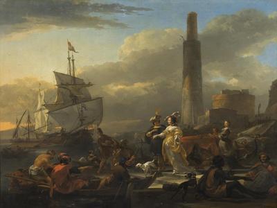 A Harbour Scene, c.1665