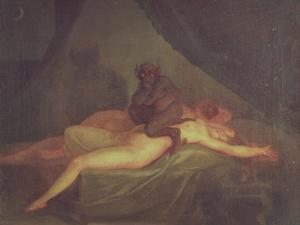 Nightmare, 1800 by Nicolai Abraham Abildgaard