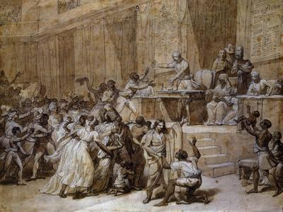 Proclamation at Convention in Paris of Abolition of Slavery