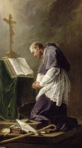Saint Fran�s de Sales by Nicolas Brenet