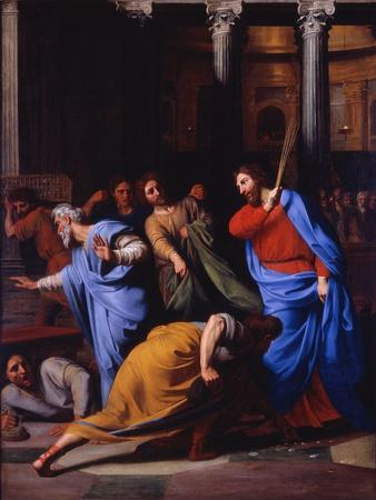 Christ Expelling the Money-Changers from the Temple, 1682