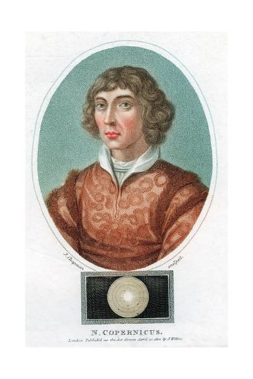 Nicolas Copernicus, Polish Astronomer, 1802--Giclee Print