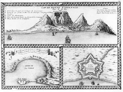 Cap De Bonne Esperance, 1705 (Engraving)