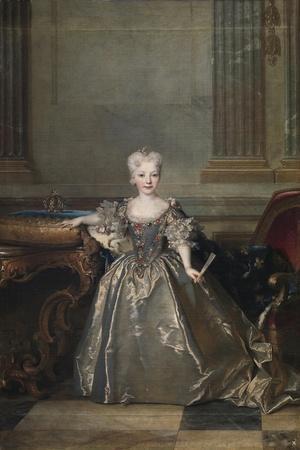 Infanta Mariana Victoria of Spain, 1724