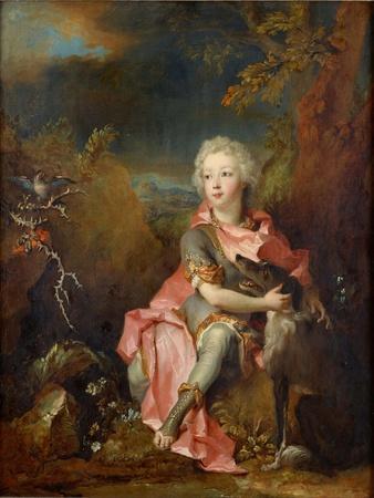 Portrait of a Young Nobleman, Ca 1714