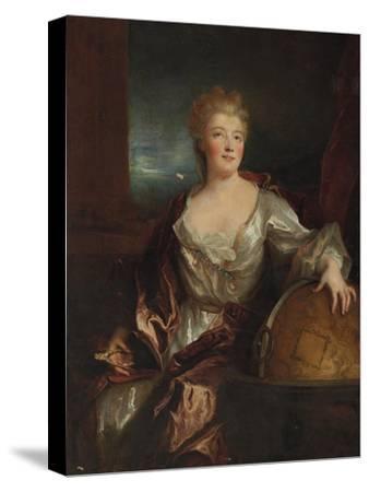 Portrait of Gabrielle Emilie Le Tonnelier De Breteuil, Marquise Du Chatelet