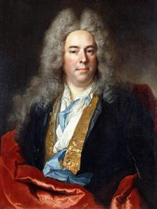 Portrait of Jacques Vincent Bassablons by Nicolas de Largilliere