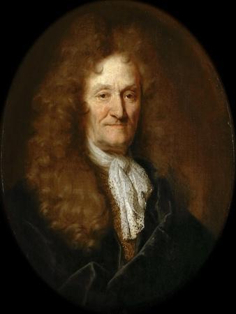 Portrait of Jean De La Fontaine (1621-169)