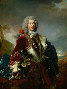 Portrait of Prince Jacques 1er Grimaldi 1689 - 1751 by Nicolas de Largilliere