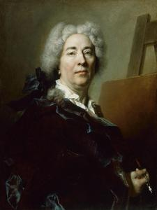 Self-Portrait, C.1725 by Nicolas de Largilliere