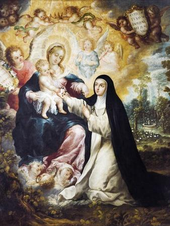 Mystic Marriage of Saint Rose of Lima