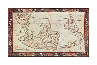 World Map, 1567