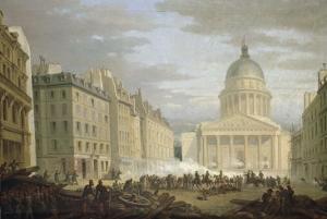 Prise du Panthéon, le 24 juin 1848 by Nicolas Edward Gabe
