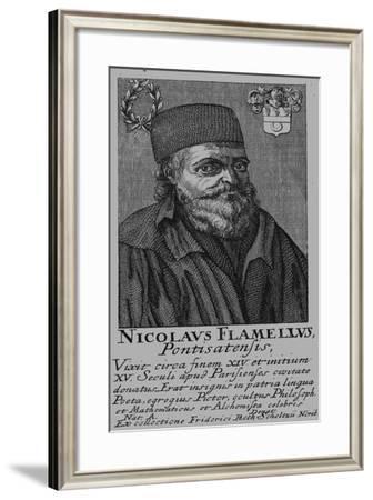 Nicolas Flamel (1330-141)--Framed Giclee Print