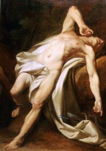 Saint Sebastian by Nicolas-guy Brenet
