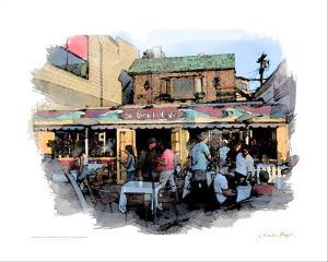 26 Beach Cafe, Venice Beach, California by Nicolas Hugo