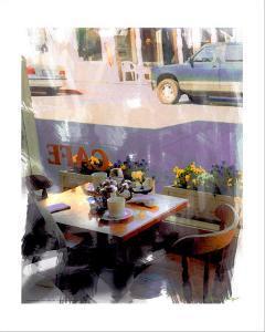 Afternoon Cafe, Venice Beach, California by Nicolas Hugo