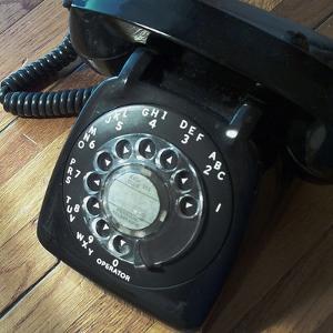 American Antiques: Telephone by Nicolas Hugo