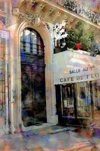 Cafe de Flore, Paris, France by Nicolas Hugo