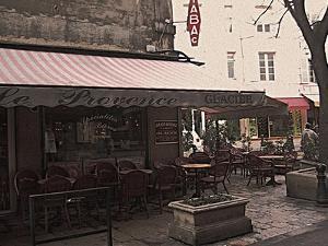 Cafe Le Provence, Aix-En-Provence by Nicolas Hugo