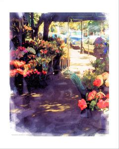 Flower Shop in a Shade by Nicolas Hugo