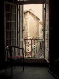 French Window, Aix-en-Provence, France by Nicolas Hugo