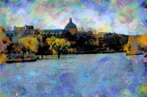 La Seine, Paris, France by Nicolas Hugo