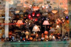 Lamp Store, Paris, France by Nicolas Hugo