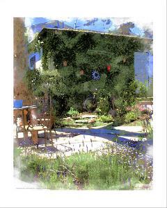 Summer Garden, Venice Beach, California by Nicolas Hugo