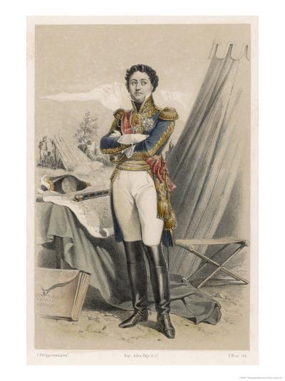 Nicolas-Jean de Dieu Soult Duc de Dalmatie French Soldier and Statesman-F. Philippoteaux-Giclee Print