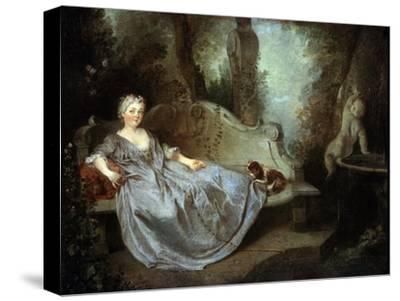 A Lady in a Garden, 18th Century