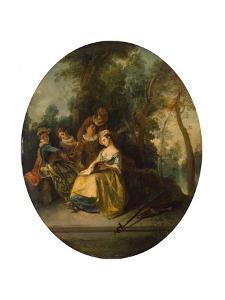 Concert in the Park, 1738 by Nicolas Lancret