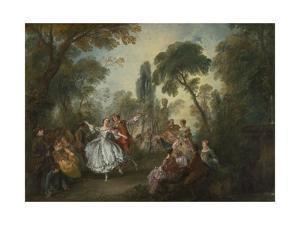 La Camargo Dancing, 1730 by Nicolas Lancret