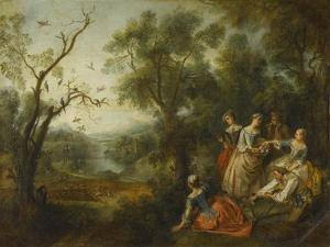 Le Printemps by Nicolas Lancret